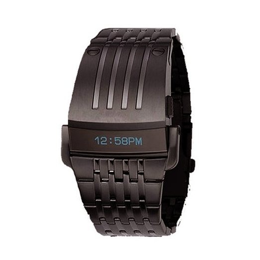 Iron Man Built-in Blue LED for Men's Military Watch
