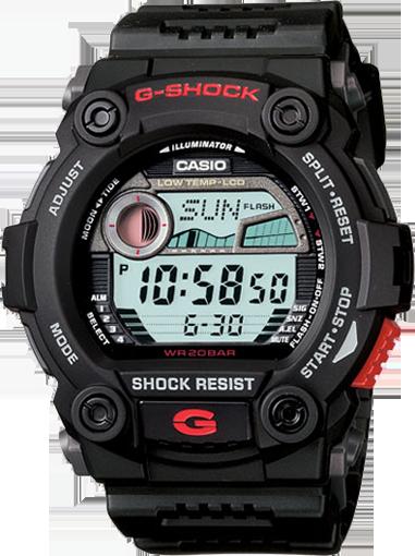 Casio Men's G7900-1 G-Shock Rescue Digital Military Watch