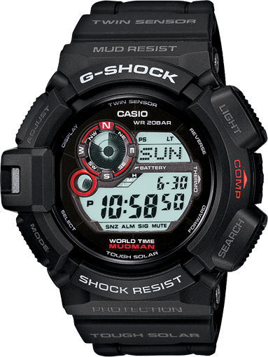 G Shock Mudman reviews