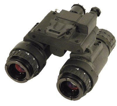 Night Optics BNVD-15 Gen 3 Autogated Pinacle Dual-Tube Night Vision Goggle