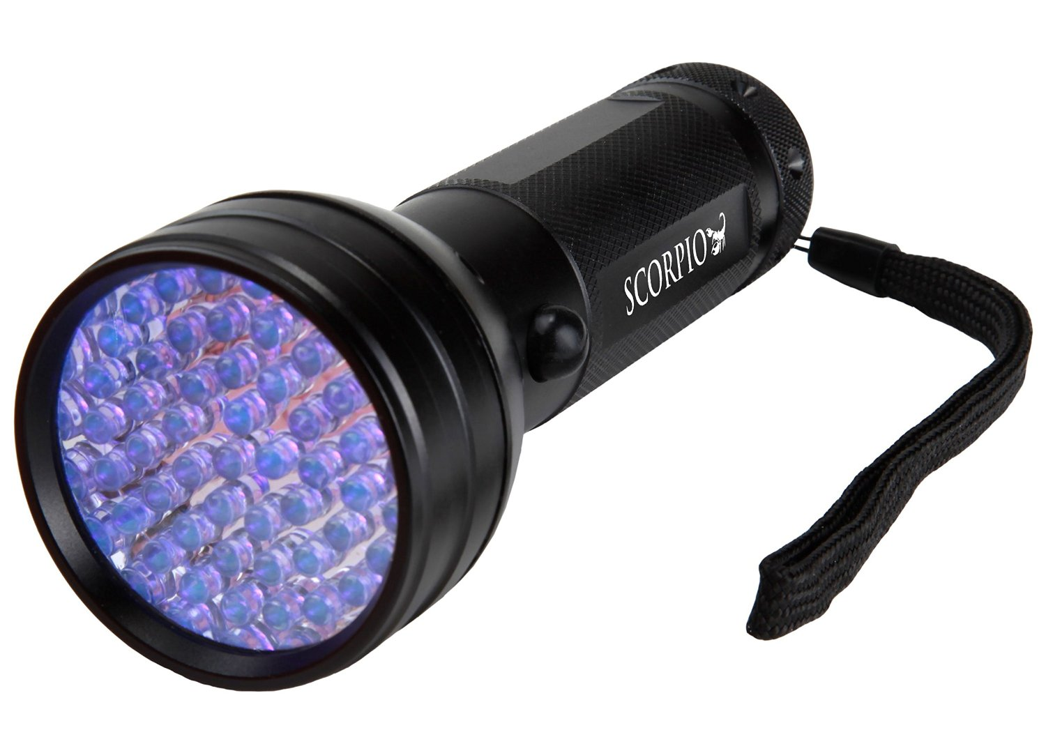 Scorpio Premium 51 LED 395 nm UV Flashlight