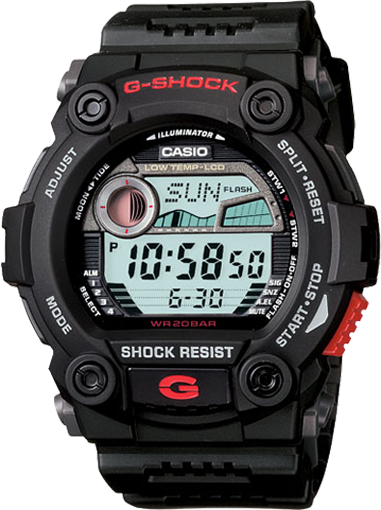 Casio Men's G7900-1 G-Shock Rescue Digital Military Watch