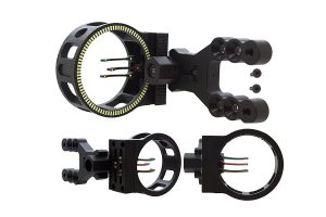 magnifying bow sights