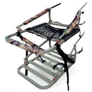 hunters view climbing tree stand